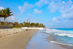 Palm Beach beach coastline Florida US Stock Photography