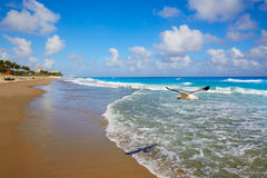 Palm Beach beach coastline Florida US Stock Photos