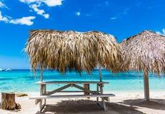 Palm beach chaise longue Stock Photo