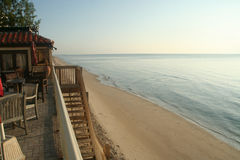 Palm Beach - havsikt Royaltyfri Foto