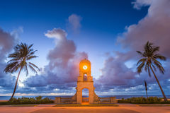 Palm Beach la Florida foto de archivo