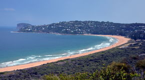 Palm Beach one of Sydney's iconic northern beaches Stock Photography