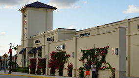 Palm Beach Outlets in West Palm Beach, Florida Stock Photos