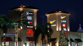 Palm Beach Outlets in West Palm Beach, Florida Royalty Free Stock Images