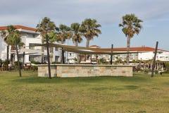 Palm beach pavilion for celebrations Stock Photography