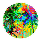 Palm beach 3 Royalty Free Stock Images