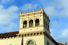 Palm Beach Town Hall, Florida Stock Images