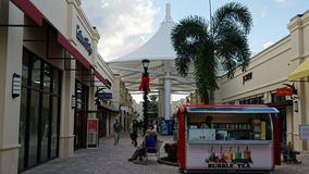 Palm Beach ujścia w Zachodni palm beach, Floryda Zdjęcie Royalty Free