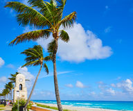 Palm Beach Worth Avenue clock tower Florida Royalty Free Stock Photos