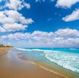 Palm Beach wyrzucać na brzeg linię brzegową Floryda USA Obrazy Royalty Free