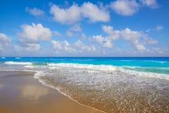 Palm Beach wyrzucać na brzeg linię brzegową Floryda USA Obraz Stock