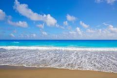 Palm Beach wyrzucać na brzeg linię brzegową Floryda USA Fotografia Royalty Free