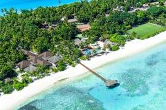 Palm Beachsemesterort, Maldiverna ö Arkivfoton