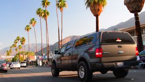 Palm Canyon Dr stock video footage