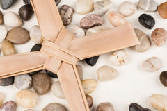 Palm Cross Stock Image