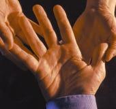 palm czytelnika Obraz Royalty Free