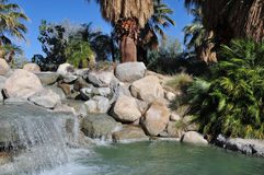Palm Desert绿洲 库存照片
