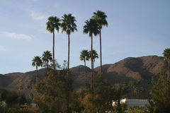 Palm Desert mountains Royalty Free Stock Photography