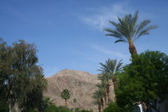 Palm Desert mountains Stock Images