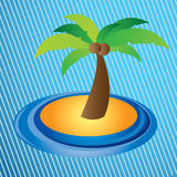 Palm design Stock Photos