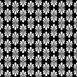 Palm Fan Stripes Seamless Pattern. Antique ceramic motif palmette, a fan shaped palm leaf. Is is classical motif loking like a stylized honeysuckle flower. These Royalty Free Stock Photography