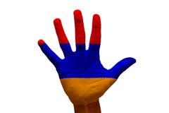 palm flag armenia Stock Photos