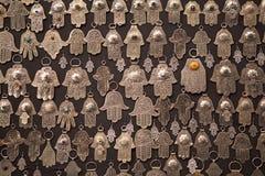 Palm gevormde amulettenhand van Fatima Stock Afbeelding