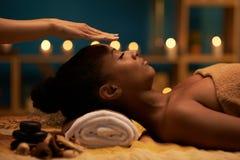 Palm healing Stock Photo