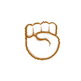 Palm, High Five Hand Gesture People Emotion Icon Royalty Free Stock Images