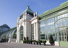 Palm house in Burggarten of Vienna, Austria Stock Images
