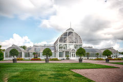 The Palm House in Gothenburg. The Palm House in The Garden Society of Gothenburg is located in central parts of Gothenburg city and easily accessible for stock photography