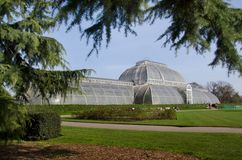 The Palm House at Kew Gardens, London UK. Stock Photo