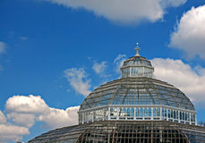 Palm house in Sefton Park, Liverpool Royalty Free Stock Photo