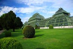 Palm house,Vienna, Austria Royalty Free Stock Photos