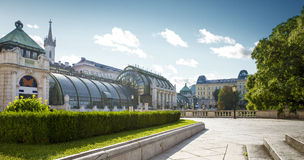 Palm house in Vienna Royalty Free Stock Photos