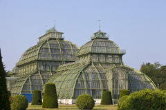 Palm house  in Vienna, Austria Royalty Free Stock Photo