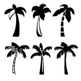 Palm  icon sketch cartoon vector illustration Royalty Free Stock Images