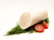 Palm ingredient. Low calorie food extracted from the acai palm tree Stock Photography