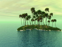 Palm Island Stock Image