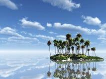 Palm Island Royalty Free Stock Photo