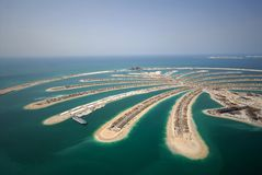Palm Jumeirah royalty free stock photos