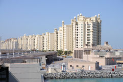 Palm Jumeirah, Dubai Stock Photo