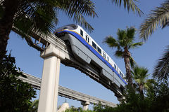 Palm Jumeirah Monorail Royalty Free Stock Photo