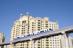 Palm Jumeirah Monorail, Dubai Stock Photos