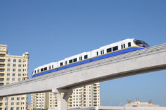 Palm Jumeirah Monorail, Dubai Royalty Free Stock Photo
