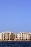 The Palm Jumeirah, Shoreline apartments Stock Images