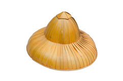 Palm leaf hats. Palm leaf hats,nortern,Thailand Royalty Free Stock Images