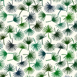 Palm leaf seamless pattern background. Palm leaf textile pattern. Stock Images