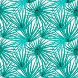 Palm Leaf Vector Seamless Pattern Background Illustration. EPS10 vector illustration