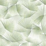 Palm leaves 1. Transparent palm leaves. Tile for endless background Stock Photos